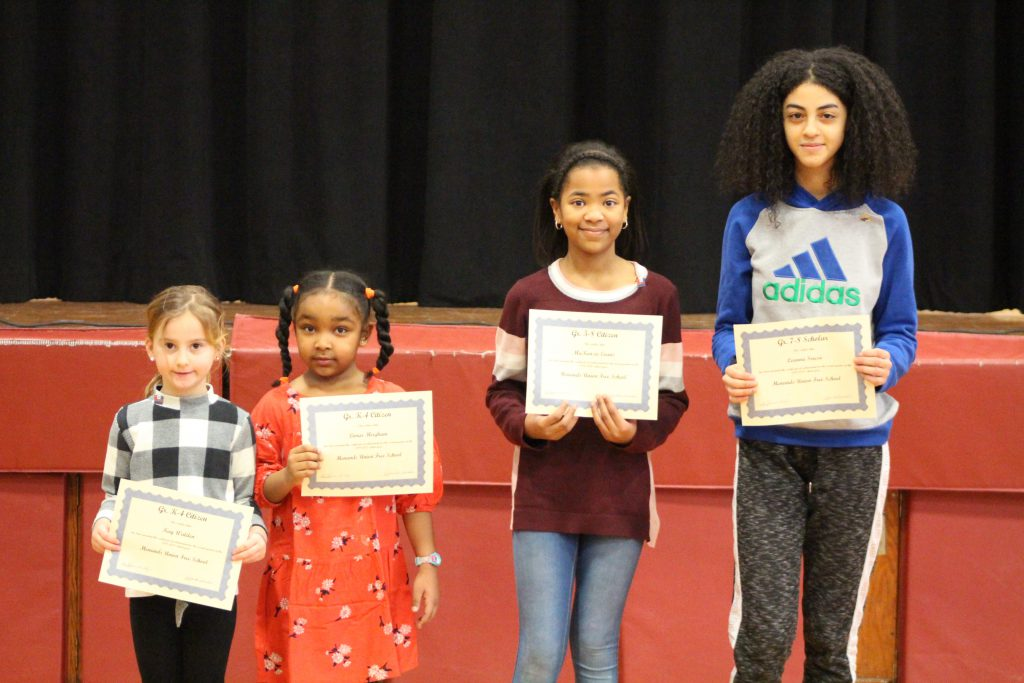 Q2 Citizen Scholar Winners