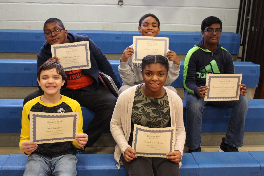 Q2 Honor Roll students