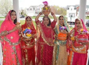 Rajveer Nathawat's family celebrates Gangaur
